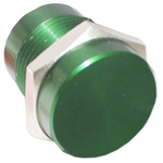 Green Wire Lead Piezo Switch, , IP68, 200 mA @ 24 V, 1-pole on-off switch, -40 → +125°C