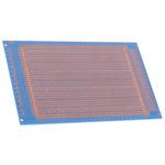 10-2845, Double-Sided Stripboard Epoxy Glass 160 x 100 x 1.6mm DIN 41612 FR4