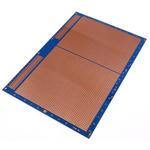 10-27559, Single-Sided Stripboard Epoxy Glass 233.4 x 160 x 1.6mm DIN 41612 FR4