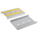 PCTE100 04ST, PCB Eurocard Support Track 160mm x 100mm PVC