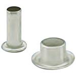 24, Wide Roll Eyelet PCB Rivet for 1.57mm Diameter, 3.18mm Length