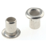 34, Wide Roll Eyelet PCB Rivet for 2.36mm Diameter, 3.18mm Length