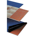 03-5153-1, Double Sided Photoresist Board FR4 35μm Copper Thick, 233.4 x 160 x 1.6mm