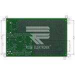 RE3001-LF, Double Sided Eurocard FR4 1.1mm Holes, 2.54 x 2.54mm Pitch, 160 x 100.18 x 1.5mm