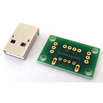 Surface Mount (SMT) Board Glass Composite Double-Sided 27.94 x 17.78 x 1.6mm CEM3