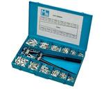 MECATRACTION Assorted Box with Tubular Lugs and Crimping Tool Crimp Terminal Crimp terminal Kit