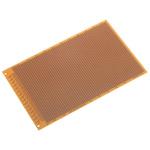 RE 521-HP, Single-Sided Stripboard FR-2 100 x 160 x 1.5mm DIN 41612 FR2