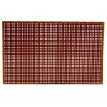 RE200-HP, Single Sided Matrix Board FR2 with 38 x 61 1mm Holes, 2.54 x 2.54mm Pitch, 160 x 100 x 1.5mm