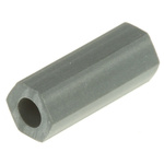 HS 4 4, 12.7mm High CPVC Hex Spacer 4.8mm Wide, with 2.6mm Bore Diameter for M2.5, No.4 Screw