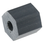 HS 8 3, 9.5mm High CPVC Hex Spacer 9.5mm Wide, with 3.6mm Bore Diameter for M4, No.8 Screw