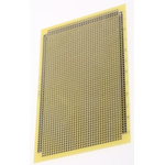 AG611, Single Sided DIN 41612 Matrix Board FR4 with 1mm Holes 2.54 x 2.54mm Pitch, 160 x 100 x 1.6mm