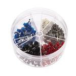 RS PRO 400 Piece Bootlace Ferrule Crimp terminal Kit