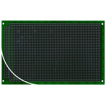 RE334-LF, Double Sided DIN 41612 C Eurocard PCB FR4 With 32 x 53 1mm Holes, 2.54 x 2.54mm Pitch, 160 x 100 x 1.5mm