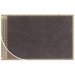 RE521-LF, Single-Sided Stripboard Epoxy Glass 100 x 160 x 1.5mm DIN 41612 FR4