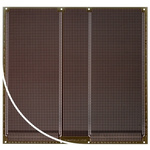 RE333-LF, Double Sided DIN 41612 Multibus II Board With 79 x 80 1mm Holes, 2.54 x 2.54mm Pitch, 233.4 x 220 x 1.5mm