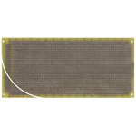 RE332-LF, Double Sided DIN 41612 Multibus II Board With 32 x 81 1mm Holes, 2.54 x 2.54mm Pitch, 220 x 100 x 1.5mm