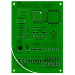 RE711001-LF, Single-Sided SMD Soldering Exercise Board FR4 for 57 Multiple Types Packages 100 x 140 x 1.5mm