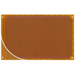 RE318-HP, Single Sided DIN 41612 C Eurocard PCB FR2 With 33 x 55 1mm Holes, 2.54 x 2.54mm Pitch, 160 x 100 x 1.5mm