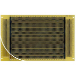 RE330-LF, Single Sided DIN 41612 C Eurocard PCB FR4 With 36 x 44 1mm Holes, 2.54 x 2.54mm Pitch, 160 x 100 x 1.5mm