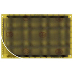 RE318-LF, Single Sided DIN 41612 C Eurocard PCB FR4 With 33 x 55 1mm Holes, 2.54 x 2.54mm Pitch, 160 x 100 x 1.5mm