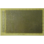AL201, Double Sided DIN 41612 Matrix Board FR4 with 1mm Holes 160 x 100 x 1.5mm