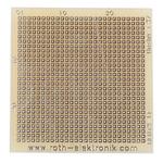 RE012-LF, Single Sided Matrix Board FR4 with 27 x 27 0.45mm Holes, 1.27 x 1.27mm Pitch, 39.37 x 38.1 x 1.5mm
