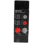 Brodersen Systems SPDT Multi Function Timer Relay, 10.5 → 265 V ac/dc 0.6 sec → 60 mins, Plug In Mount