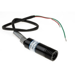 1068-40-000 Laser Module, 633nm 1.5mW, Continuous Wave, TTL control Ellipse pattern +4.5 → +5.5 V
