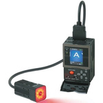 CCD, Red LED, Monochrome PNP Vision Sensor, Cable Connector