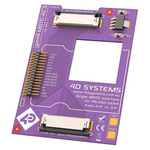 4D Systems MOTG AC3 Interface Board with 1 MOTG Slot for gen4 LCD Displays