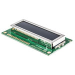 Displaytech 162B-CC-BC-3LP Alphanumeric LCD Display, White on Black, 2 Rows by 16 Characters, Transflective