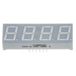CA56-11SURKWA Kingbright 4 Digit 7-Segment LED Display, CA Red 24 mcd RH DP 14.2mm