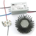 ILS ILK-PINOIR-BASIC-01. LED Light Kit, OSLON Black IR Pinoir Basic