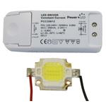 PowerLED COB10W-W-KIT LED Light Kit