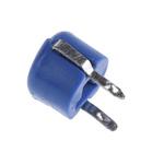 RS PRO Ceramic Trimmer Capacitor 2.5 → 7pF 100V Ceramic