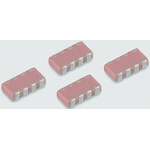 Yageo Capacitor Array 220pF 50V dc ±5% 4-way C0G Dielectric 0612 (1632M) Package C-Array Series Surface Mount