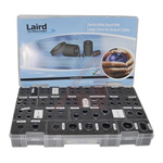 128 piece Laird Technologies Ferrite Core Kit Includes (1) 28A0640-0A0 Broadband EMI Ferrite Cylindrical Core(1)