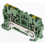 Weidmüller 2 Way Clamp ZPE 2.5, 63mm Length 26 → 12 AWG