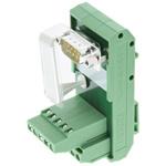 Phoenix Contact, 9 Pole D-sub Connector, Male Interface Module, DIN Rail Mount