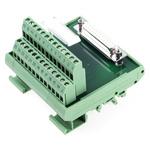Phoenix Contact, 25 Pole D-sub Connector, Female Interface Module, DIN Rail Mount