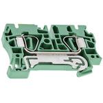 Weidmuller 2 Way Clamp ZPE4 DIN Rail, 64mm Length 26 → 10 AWG
