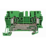 Weidmuller 2 Way Clamp ZPE 10, 73.5mm Length 16 → 6 AWG