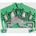 Weidmüller 2 Way Clamp ZPE 2.5-2, 50.5mm Length 26 → 12 AWG