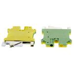 Phoenix Contact ATEX 2 Way Screw Down DIN Rail, 42.5mm Length 24 → 10 AWG