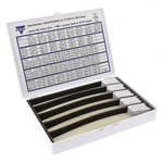 Vishay, D11/CRCW0603 Thick Film, SMT 122 Resistor Kit, with 6100 pieces, 10 Ω to 1 MΩ