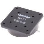 Sonitron Piezo Speakers, 80dB, 500 → 8000 Hz, 66nF, 32.4 (Dia.) x 9.7mm