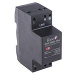 WJ Furse D Series 280 V Maximum Voltage Rating 10A Maximum Surge Current Mains Protector, DIN Rail Mounting
