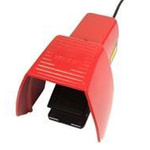 F1 Series Emergency Stop Foot Switch with Cover, 1 Pedal, NO/NC