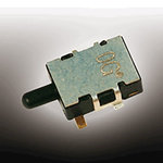 Copal Electronics Detector Switch, Single Pole Single Throw (SPST), 100 mA, Copper Alloy