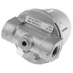 RS PRO 1 bar Aluminium Heating Oil Filter, 1/4 in BSPP, 61 x 61 x 75mm
